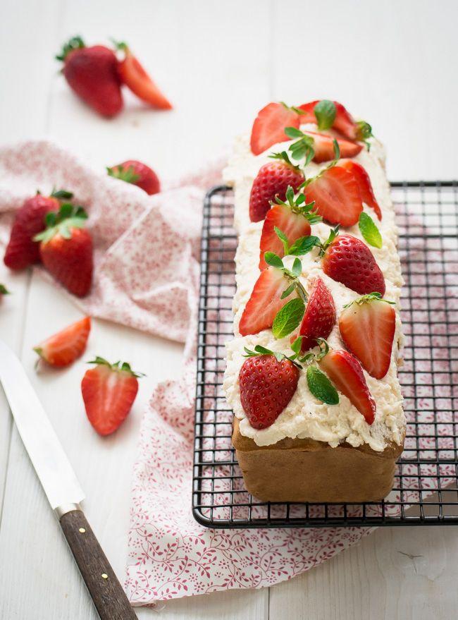 Cake pomme fraise