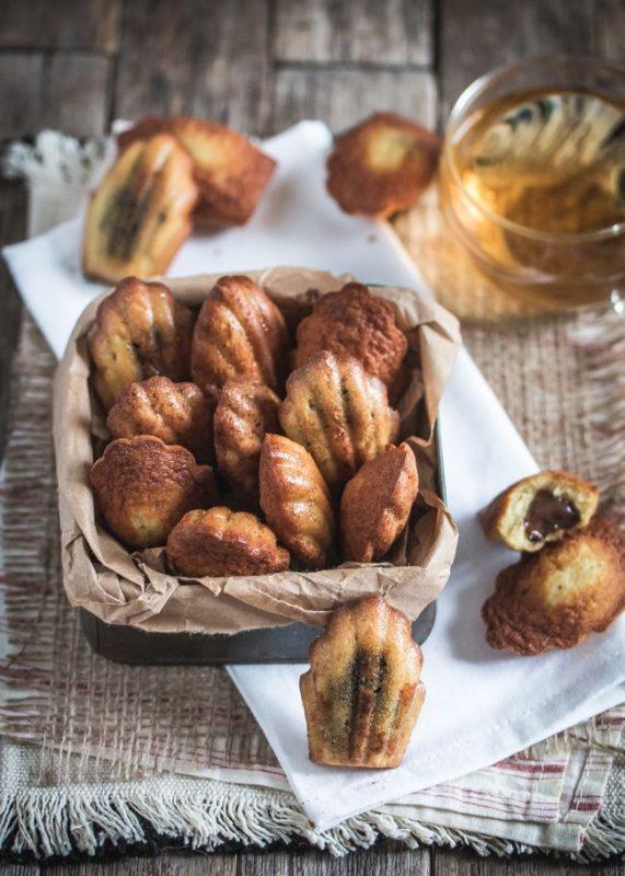 Madeleines au citron-bergamote (fourrées à la pâte à tartiner) | Recette de base de Philippe Conticini | Jujube en cuisine