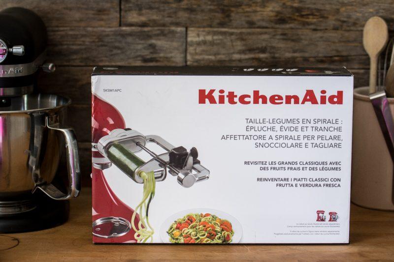Spiralizer accessoire pour KitchenAid | Jujube en cuisine