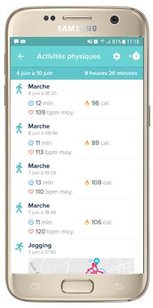 Suivi Multisports automatique et GPS via smartphone | Mon avis sur la Fitbit Charge 2 | jujube en cuisine