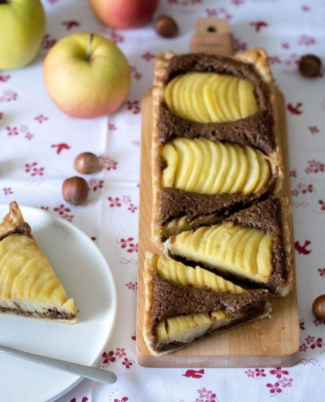 Tarte aux pommes à la noisette | Jujube en cuisine
