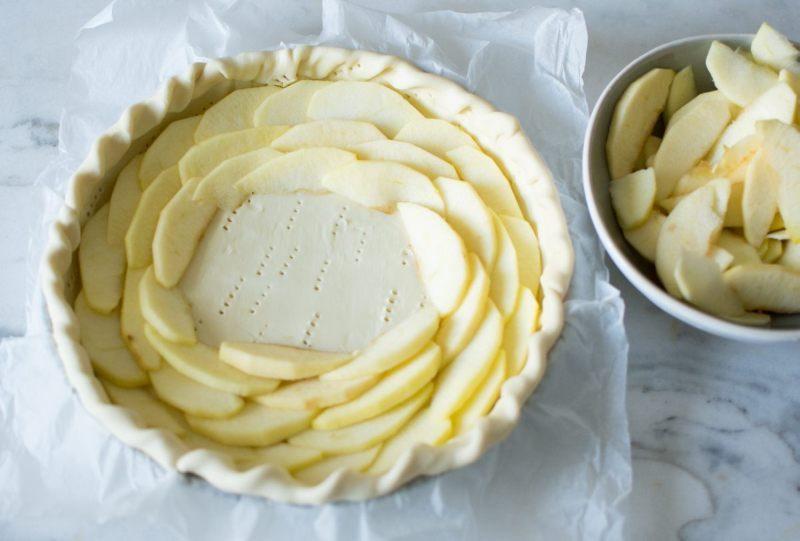 Tarte aux pommes façon normande | Jujube en cuisine
