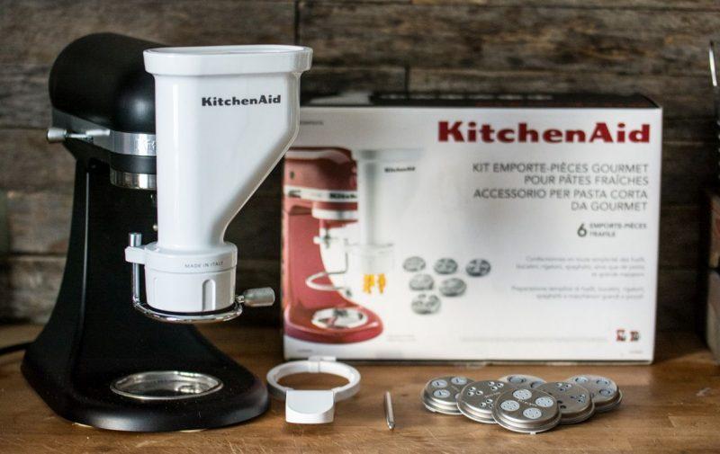 Presse à pâtes - 6 grilles | KitchenAid | Jujube en cuisine