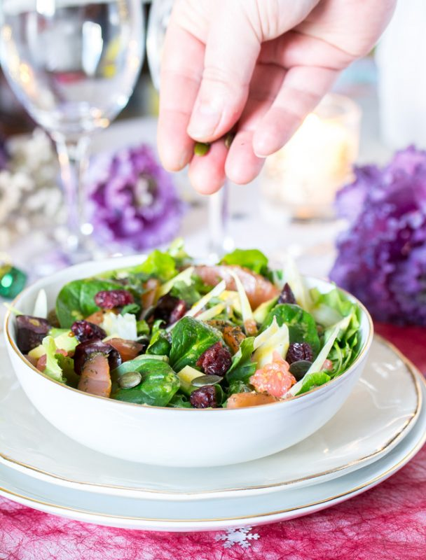 La salade super simple pour les repas de fêtes  | Jujube en cuisine