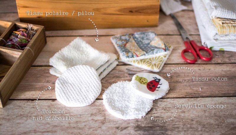 Fabriquer ses propres cotons lavables | Jujube en cuisine