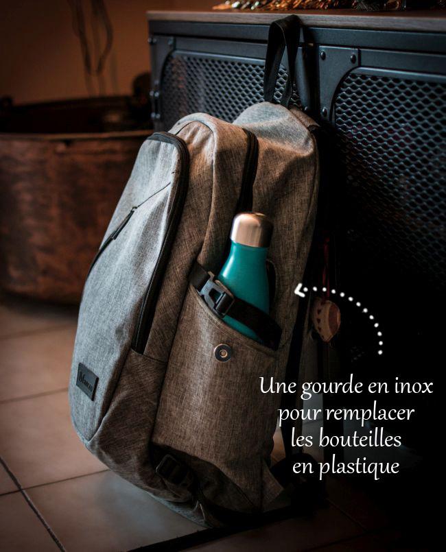 Une gourde en inox pour remplacer les bouteilles en plastique | Objectif Zéro Plastique | Jujube en cuisine