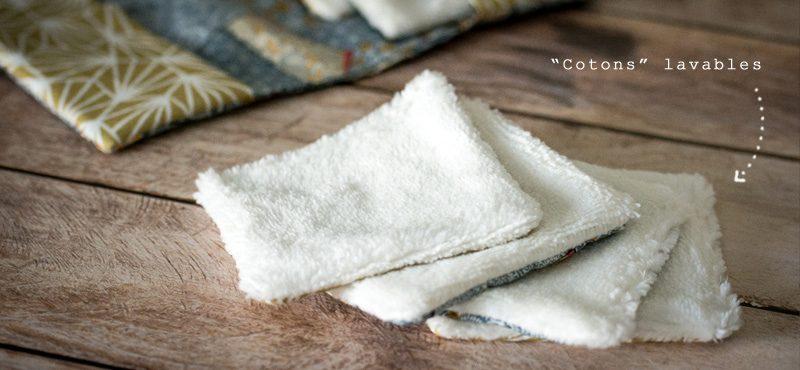 Objectif Zéro plastique | Carrés à démaquiller lavables | Jujube en cuisine