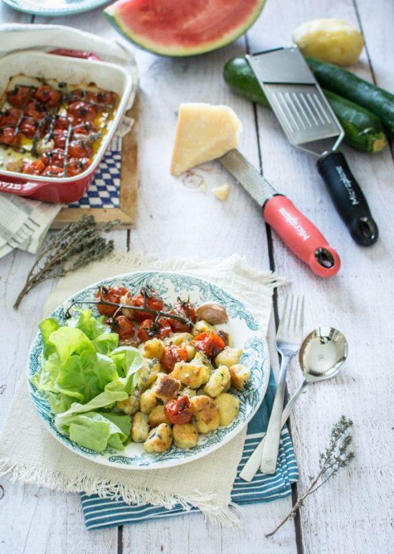 Gnocchis pomme de terre, courgette et parmesan | Jujube en cuisine