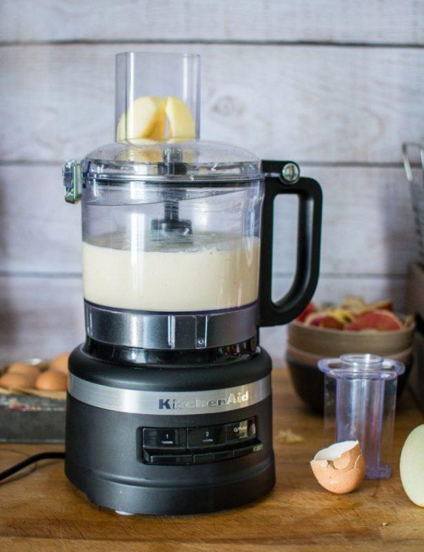 Robot ménager multifonction 1.7L KitchenAid | Pancakes à la pomme (râpée) | Jujube en cuisine
