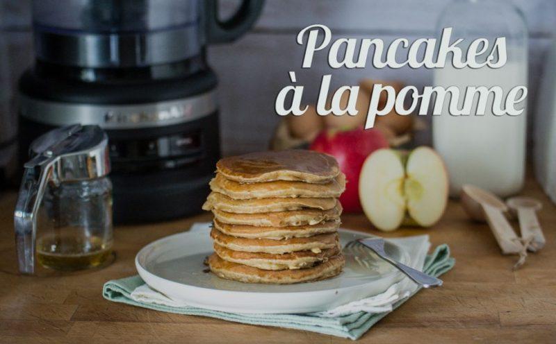 Pancakes à la pomme (râpée) | Jujube en cuisine