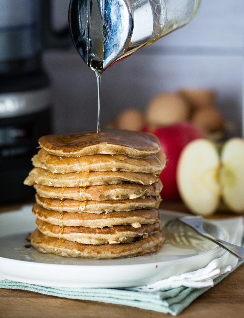 Pancakes à la pomme (râpée)