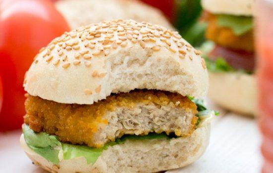 Pains à burger (vegan)