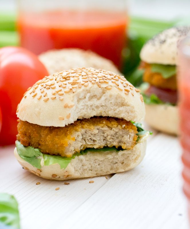 Pains à burger (vegan)