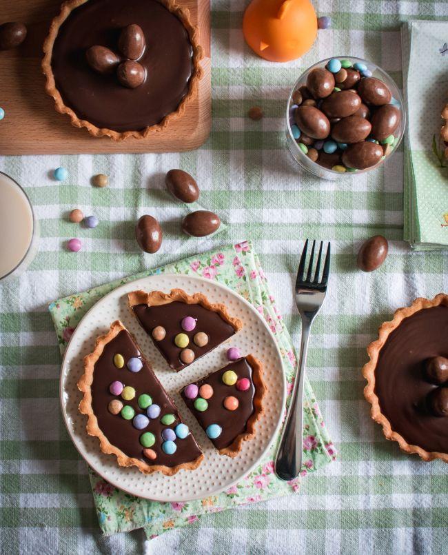 Préparation tartelettes chocolat pour Pâques | Jujube en cuisine