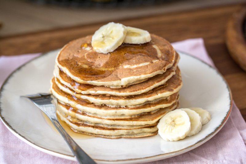 Pancakes 3 ingrédients | Sans oeuf | Jujube en cuisine
