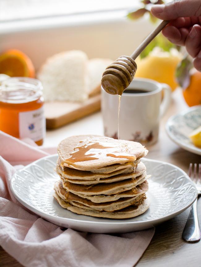 Pancakes 3 ingrédients (sans lait – sans gluten)